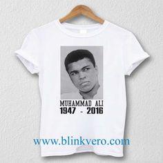 R.I.P Muhammad Ali Unisex T Shirt Size S M L XL XXL //Price: $16.25 & FREE Shipping //     #custom shirts