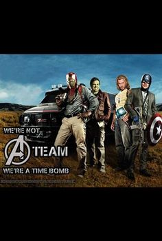 #Avengers Movie Mash-up Posters: (We're Not) A Team