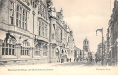 Municipal Buildings and Christ Church Oxford | eBay