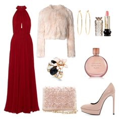 """""""Litlle Cute Outfit 2015"""" by diamondanna ❤ liked on Polyvore featuring Elie Saab, Yves Saint Laurent, Oscar de la Renta, Brooks Brothers, Anna Sui, Kate Spade, RED Valentino, Estée Lauder, women's clothing and women's fashion"""
