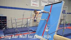 Using Bar Wall for Clear Hips Using a Bar Wall station for clear hip drills is a fun and easy way for the athlete to understand the drop necessary for this s. Gymnastics Levels, Gymnastics Tricks, Gymnastics Skills, Gymnastics Equipment, Gymnastics Coaching, Gymnastics Workout, Gymnastics Pictures, Gymnastics Bars, Staff Training