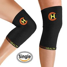CopperHealth Unisex Copper Knee Sleeve *** You can get more details by clicking on the image.Note:It is affiliate link to Amazon.