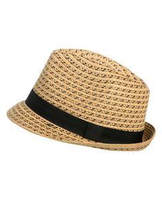 Tribal Pattern Fedora - Hats