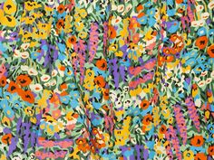 Levi's x Liberty: A Flowing Floral Pattern Paired With Denim Pattern Art, Pattern Design, Textures Patterns, Print Patterns, Colorful Drawings, Pattern Wallpaper, Vintage Prints, Flower Prints, Illustration Art