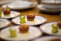 Beef Tartare and Autumn vegetable roll-ups (Chef Arsène Brun in Paris)