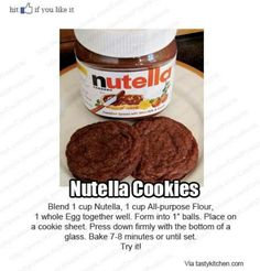 Easy cookies...trying these right now