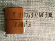 Updated: What's in my Midori Traveler's Notebook Passport Size [HD] Journal Paper, Art Journals, Soldier Care Packages, Passport Office, Planner Organization, Journal Notebook, Travelers Notebook, Filofax, Planners