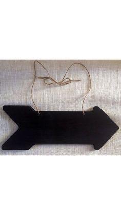 Chalkboard Arrow Sign  Rustic Wedding by CountryBarnBabe on Etsy, $17.50