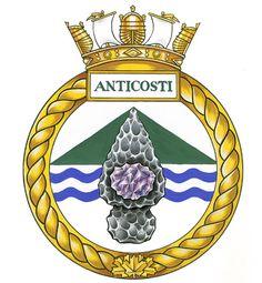 Badge of HCMS Anticosti