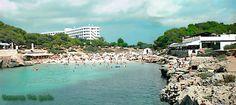 Cala Blanca, Menorca where I met my other half 16 years ago on holiday.