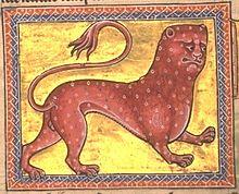 Folio 8 verso : Pard (Pardus).
