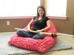 Arm Knitting Arm Knitting Yarn And Knitting On Pinterest
