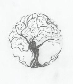 woman tree by baranoid