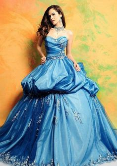 Ball Gown Dress Style