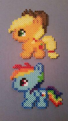 Mon petit poney Perler Bead Figures par AshMoonDesigns sur Etsy
