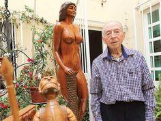 Alfredo artesano que 'da vida' a la madera; vejez digna