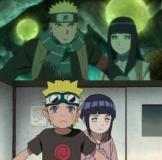 Naruto has always protected hinata Anime Naruto, Naruto Comic, Naruto Cute, Naruto Funny, Naruto Shippuden Sasuke, Hinata Hyuga, Otaku Anime, Boruto, Naruhina