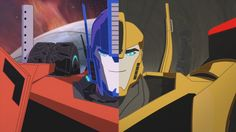 """Transformers Robots in Disguise Optimus Prime and Bumblebee (from """"Out of Focus"""")"""