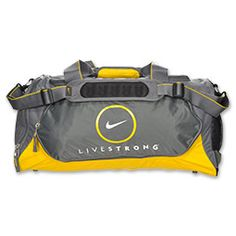 Contest Example: My #FinishLine #SwagBag is a Nike LIVESTRONG Medium Duffel Bag