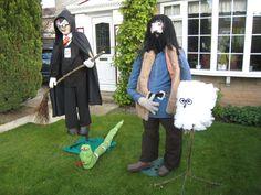 Image result for make harry potter scarecrow