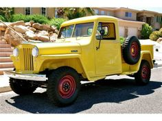 1948 Willys Jeep Truck....