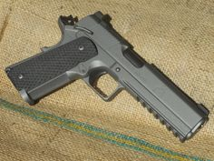 Springfield Armory 1911 in Tactical Grey. Cool gun. #tacticalgrey #grey1911 #springfieldarmory