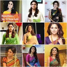 Image result for nayanthara saree blouse