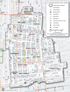 maptitude1: This map shows the many neighborhoods of the sprawling ...