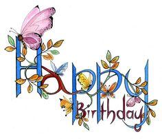 Happy birthday images with Butterfly Happy Birthday Clip, Birthday Clips, Birthday Posts, Happy Birthday Pictures, Happy Birthday Messages, Happy Birthday Quotes, Happy Birthday Greetings, Happy Birthday Artist, Birthday Blessings