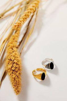 DARK STONE Napkin Rings, Jewels, Stone, Dark, Decor, Rock, Decoration, Bijoux, Gemstones