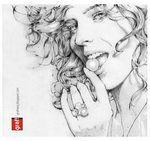 Eva Herzigova Girl Panic by ~grafnarq on deviantART