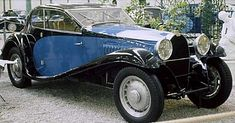 The Bugatti Type 46 this old vehicle was produced from 1929 to Volkswagen, Veteran Car, Bugatti Cars, Old Cars, Super Cars, Antique Cars, Classic Cars, Trucks, Chefs