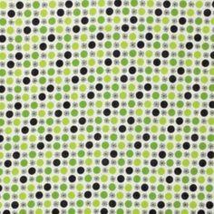 Denyse Schmidt - Flea Market Fancy - Flower & Dot in Green