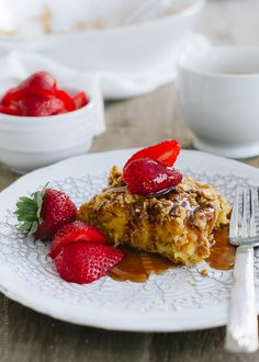 Baked Buttermilk French Toast with Oat Streusel   www.kitchenconfidante.com   When you need to feed a crowd, Baked Buttermilk French Toast with Oat Streusel is a sweet (and simple!) start to the day.