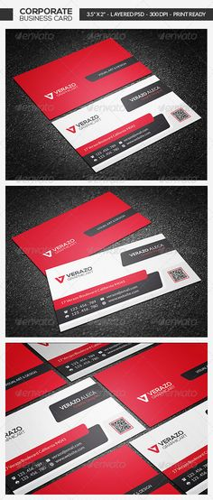 Creative Corporate Business Card PSD Print Templates| Print Ready | Buy and Download: http://graphicriver.net/item/creative-corporate-business-card-19/7381799?WT.ac=category_thumbWT.z_author=verazoref=ksioks