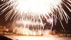 Blanes Fireworks 2010. Pirotecnia Europlà. International Fireworks Competition