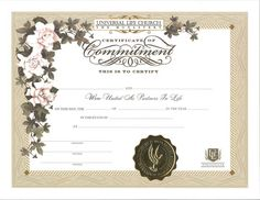 Special Warranty Certificate Templates Free  Certificate