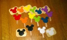 Mickey Mouse Paint Sample
