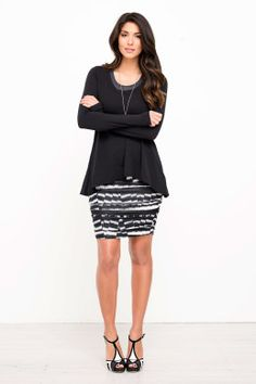 Metalicus clothing Scout Rouched Skirt - Womens Short Skirts - Birdsnest Fashion Clothing