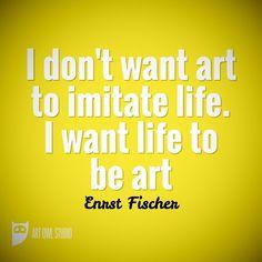 Art imitates life zebra i want