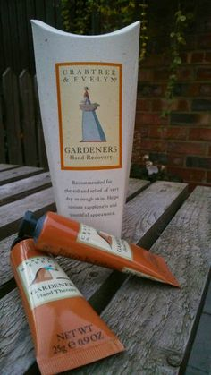 Crabtree and Evelyn Gardeners Hand Therapy and Nail & Cuticle Therapy