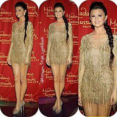 #SelenaGomez Wax Figure at Madame Tussauds#Wax #figure #madame #tussauds #madametussauds #justinbieber #statue #sculptor #beautiful #golden #girl #braid #hair #selg #mirandakerr #mileycyrus #disney #drake #quotes #twitter #facebook #legs #gorgeous... - Celebrity Fashion