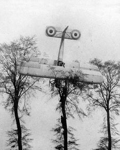 During the First World War (WWI), a French pilot made an emergency landing on private land after a failed attack on German Zeppelin hangars near Brussels, 1915, or that he subsequently lost a second...
