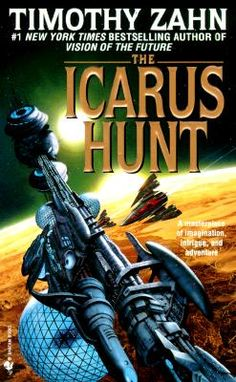 The Icarus Hunt b Timothy Zahn. Best explanation I have for it is Sherlock Holmes meets Star Wars.