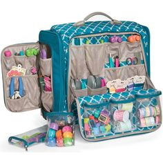 Nice bag for keeping crafting supplies organized and portable.