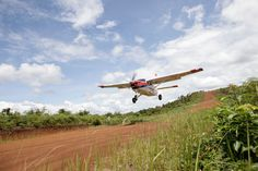 An MAF Quest Kodiak takes off in Indonesia.