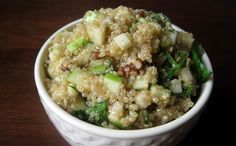 Quinoa Salad with Walnuts, Apples, and Herbs