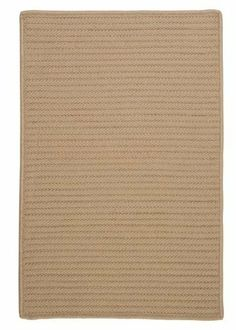 "Simply Home Solids Cuban Sand Rug Rug Size: Square 5' by Colonial Mills. $183.69. H330R060X060S Rug Size: Square 5' Features: -Technique: Braided.-Material: 100pct Polypropylene.-Origin: USA.-Reversible.-Stain resistant.-Fade resistant. Construction: -Construction: Hand guided. Dimensions: -Pile height: 0.5"".-Overall Dimensions: 34-168'' Height x 22-132'' Width x 0.5'' Depth. Collection: -Collection: Simply Home Solid."