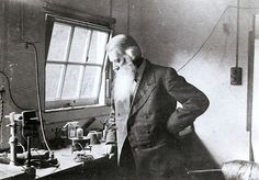 Joseph Swan in his Laboratory |   Sir Joseph Wilson Swan was a British Physicist, Chemist and Inventor. Swan lived at Underhill, on Kells Lane North in Low Fell, Gateshead. It was here that he conducted most of his experiments in the large conservatory. It was Swan's demonstration of the light bulb at a lecture in Newcastle upon Tyne on 18 December 1878, before its later development by the American Thomas Edison.