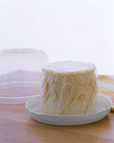 Freezing Cake Tops - Martha Stewart Food